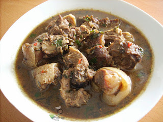 HOW TO MAKE A COW/GOAT MEAT PEPPER SOUP 1