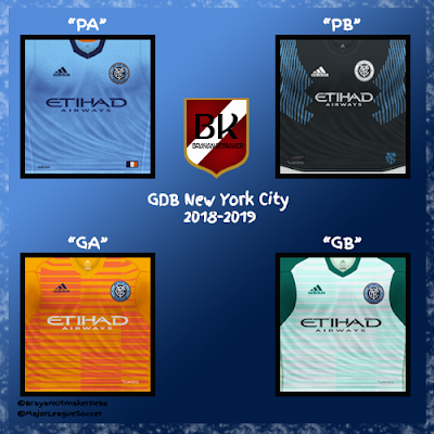 PES 6 Kits New York City Season 2018/2019 by Brayan Kitmaker