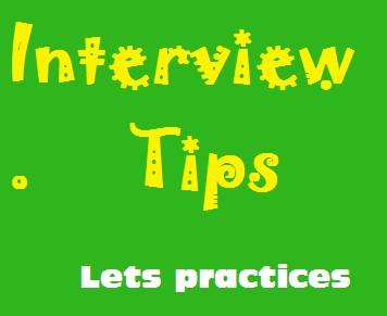 Interview-Tips lets practices