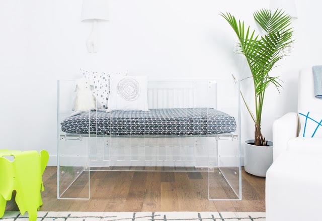 decoração moderna quarto de bebe