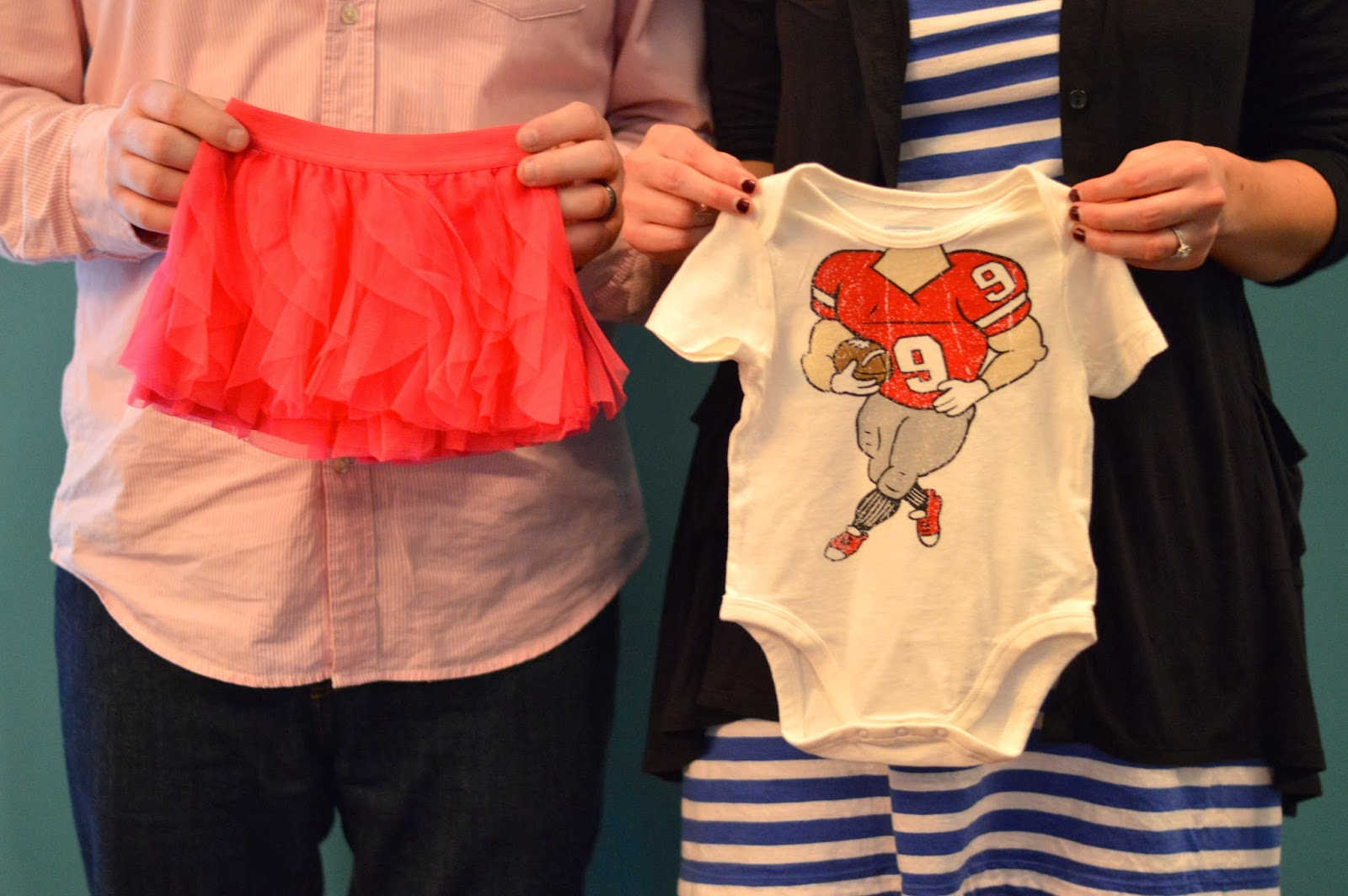 Touchdowns or Tutus: Baby Bacon Gender Reveal!