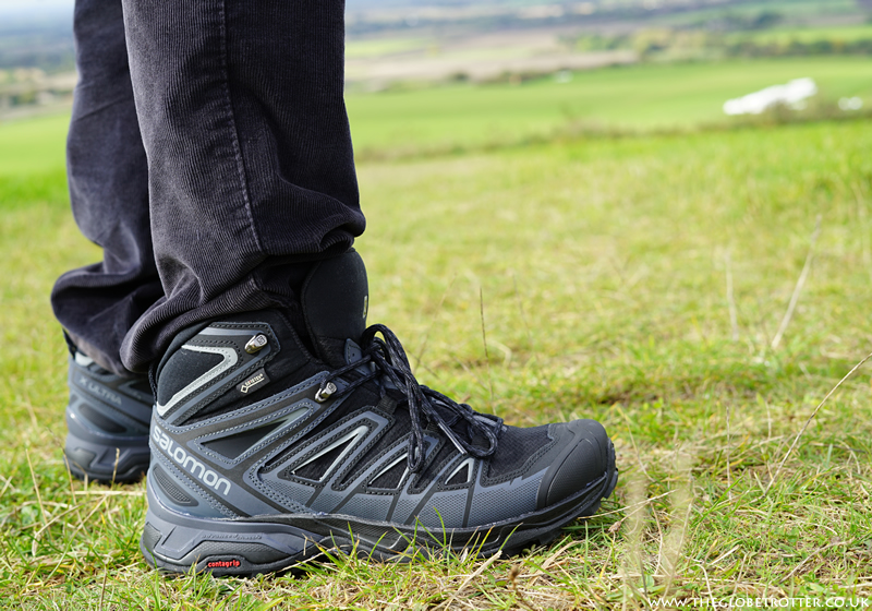 Salomon's X Ultra Mid 3 GORE-TEX walking boots