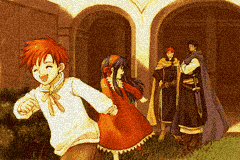 Fire Emblem Blazing Sword Roy Lilina Eliwood Hector illustration