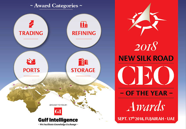 Award Categories - The 2018 New Silk Road CEO of the Year Awards