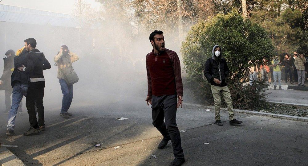 İran Protesto Gösterileri Silahlı Saldırı