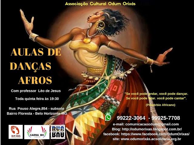 Danças afros Brasileiras