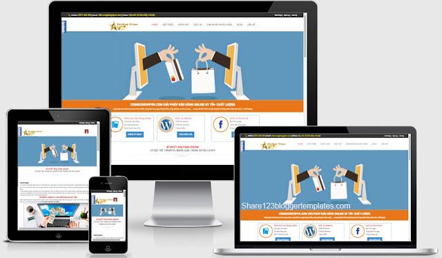 Template blogspot chuẩn seo làm trang dịch vụ