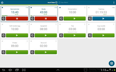 تطبيق Multi Timer StopWatch للأندرويد, تطبيق Multi Timer StopWatch مدفوع للأندرويد