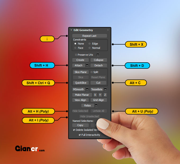 3ds max keyboard shortcuts pdf
