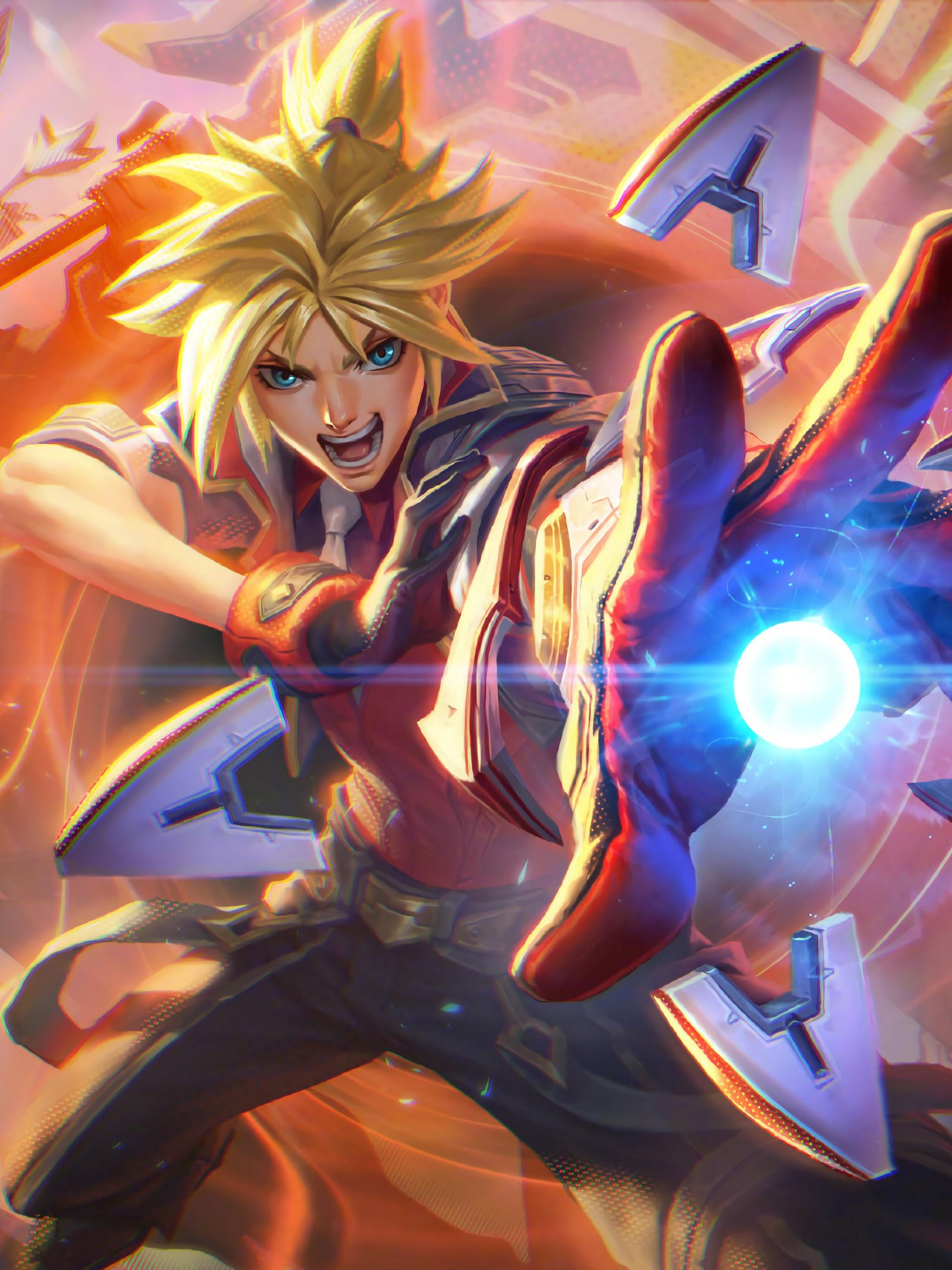 Battle Academia Ezreal Splash Art Lol 4k 77 Wallpaper