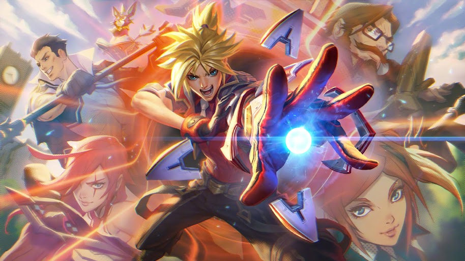 Battle Academia Ezreal Splash Art Lol 4k Wallpaper 77