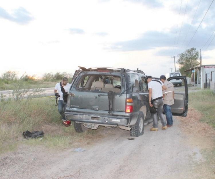 Fotos y Vídeo: Enfrentamiento deja dos supuestos pistoleros ejecutados en Tamaulipas