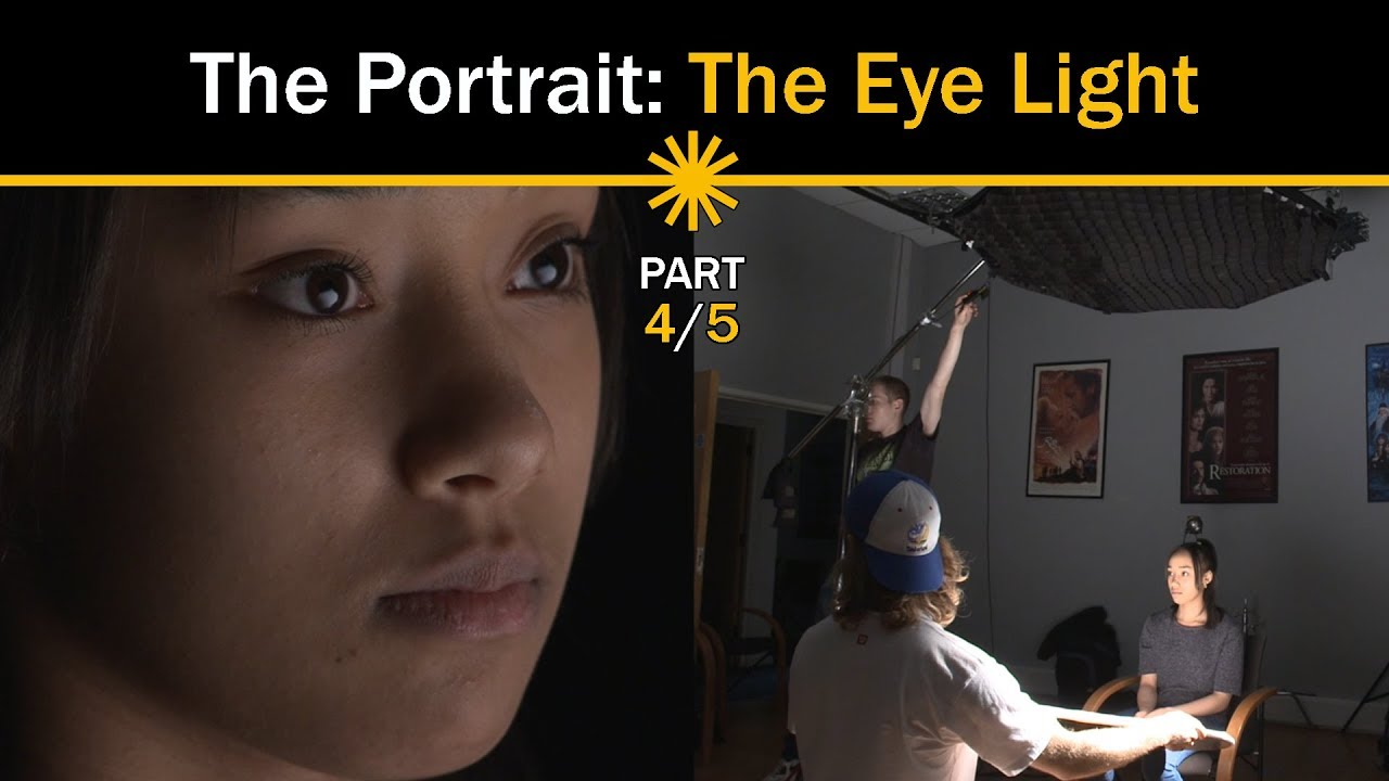 The Portrait: Understand the ways in which one can create light in the eyes