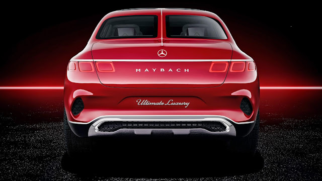 Maybach SUV back