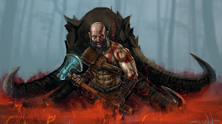 God of War 4 Painting 1920x1080