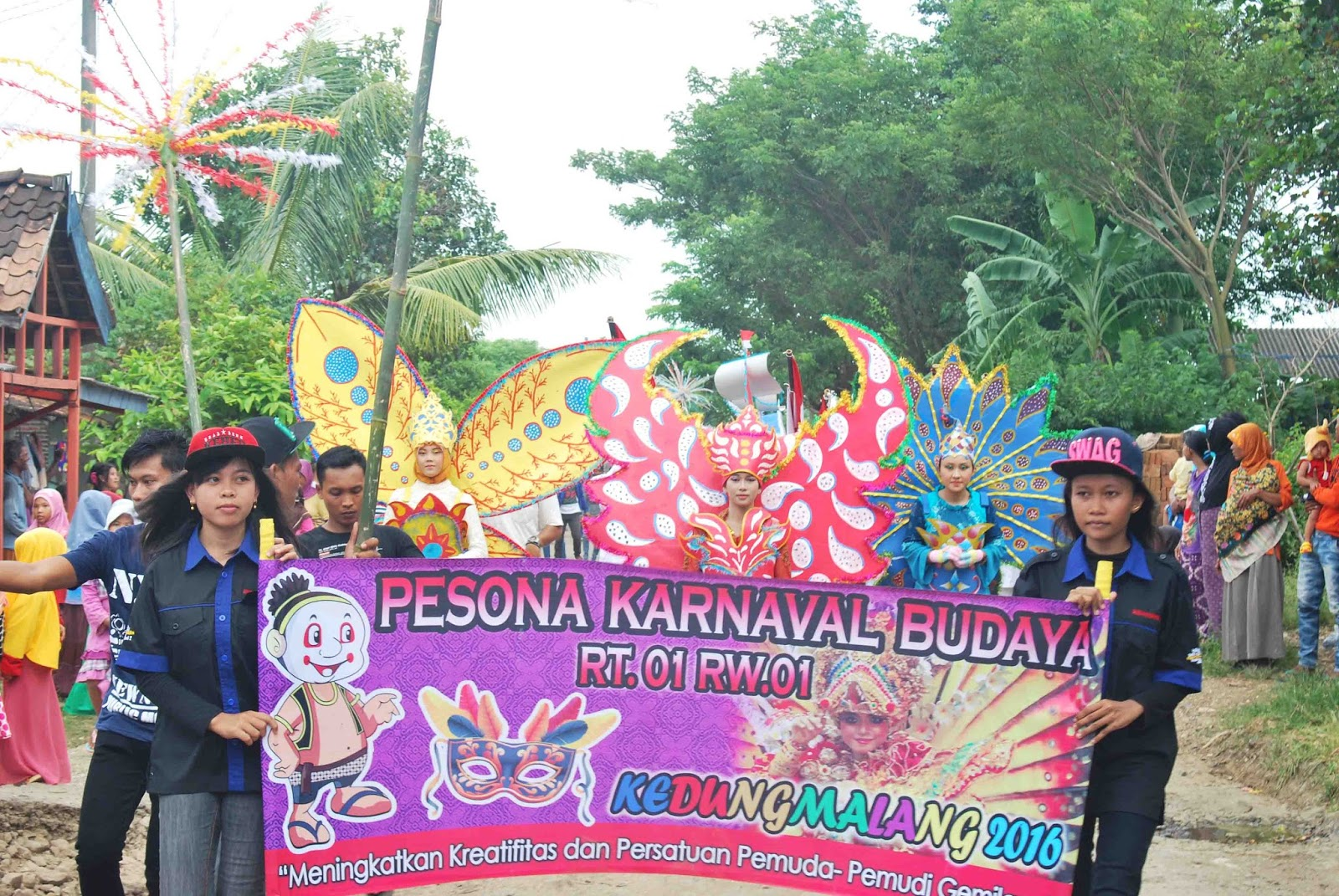 gebyar karnaval haul syeh maulana kedungmalang jepara 2016