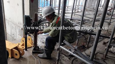 Khoan cắt bê tông tại huyện Tân Biên