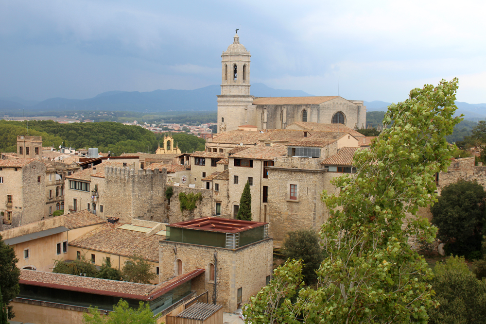 Views overlooking Girona, Spain - travel & lifestyle blog
