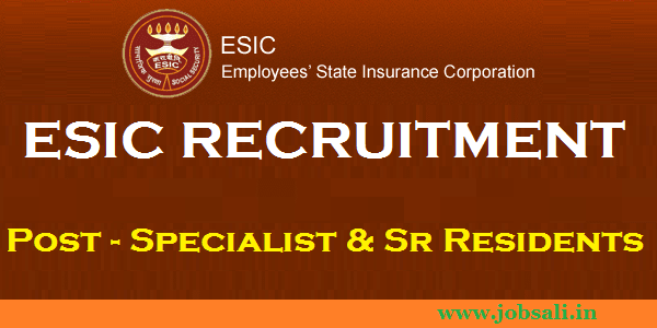 ESIC Delhi, Jobs in Delhi, ESIC Walk in Interview