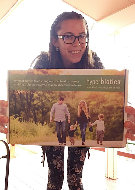 How a Celiac Goes With Her Gut - with Hyperbiotics