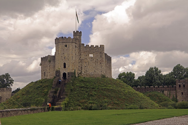 Buy Photo Art of Cardiff Castle Keep