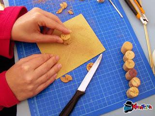 riciclo creativo dei tappi di sughero