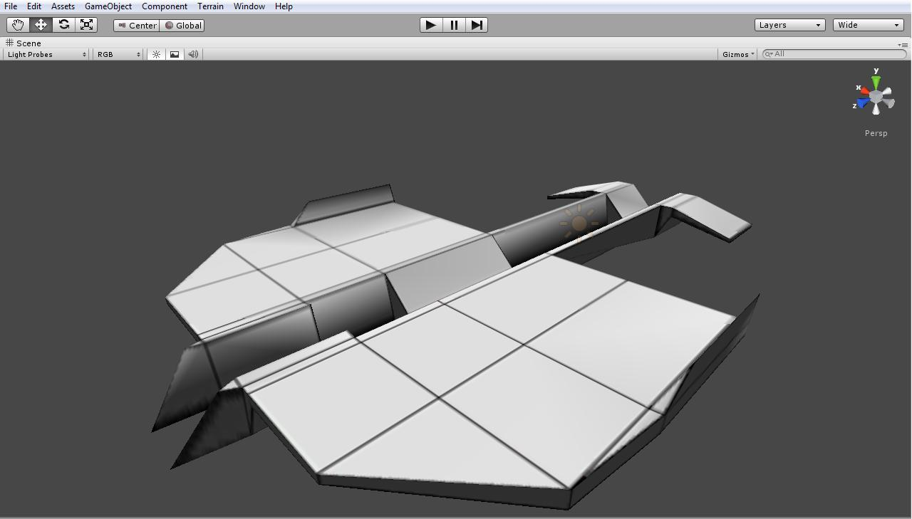 TheVikO_o was here: Paper Plane 3D Model