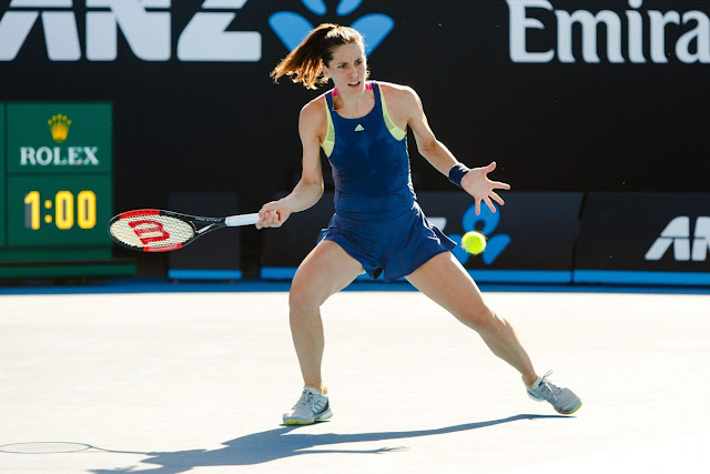 HD Photos of Andrea Petkovic Australian Open Tennis Tournament 2018 Melbourne