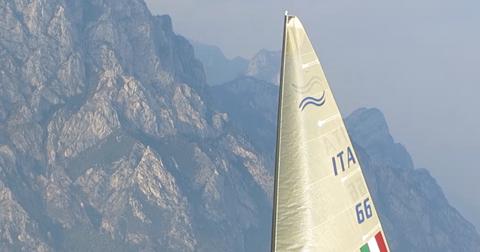 Vittoria di Enrico Voltolini alla International Finn Cup di Malcesine