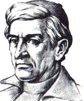 Dibujo de Toribio Rodríguez de Mendoza sin color