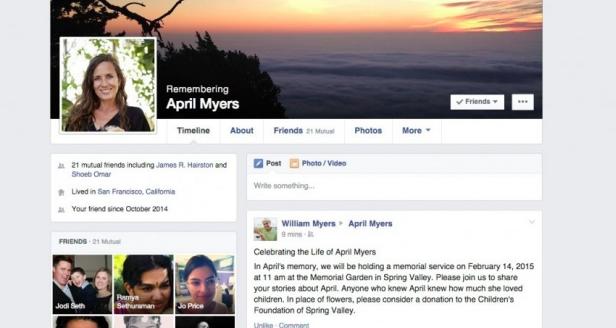 Facebook讓用戶選定「帳號繼承者」,管理逝世後帳號資訊
