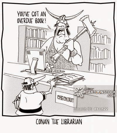 CARTOONS FOR THE TEACHER LIBRARIAN