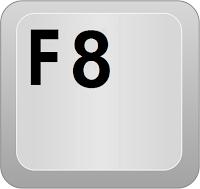 touche f12 au démarrage