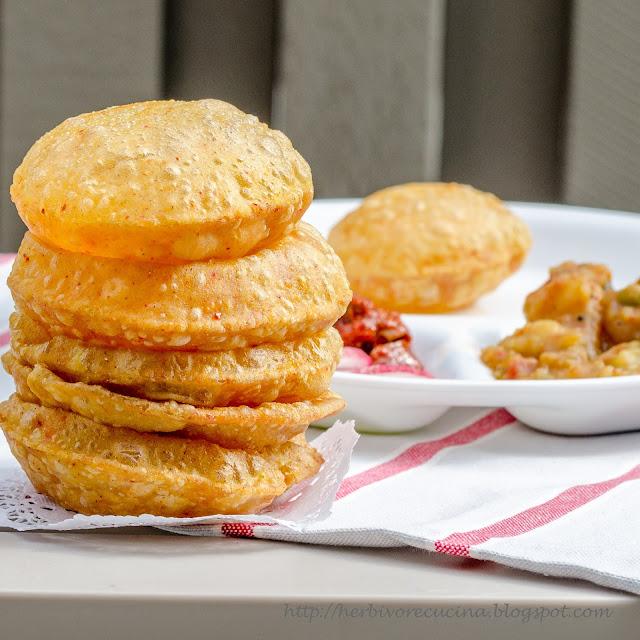 Easy Homemade Bread Recipes - Masala Puri| Homemade Recipes http://homemaderecipes.com/course/breakfast-brunch/diy-bread-recipes