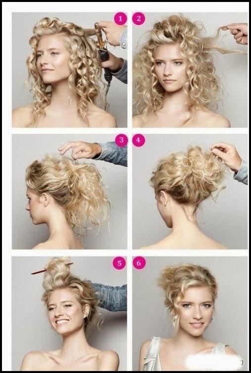 Swell Hair Tutorial For Curly Hair Short Hairstyles Gunalazisus