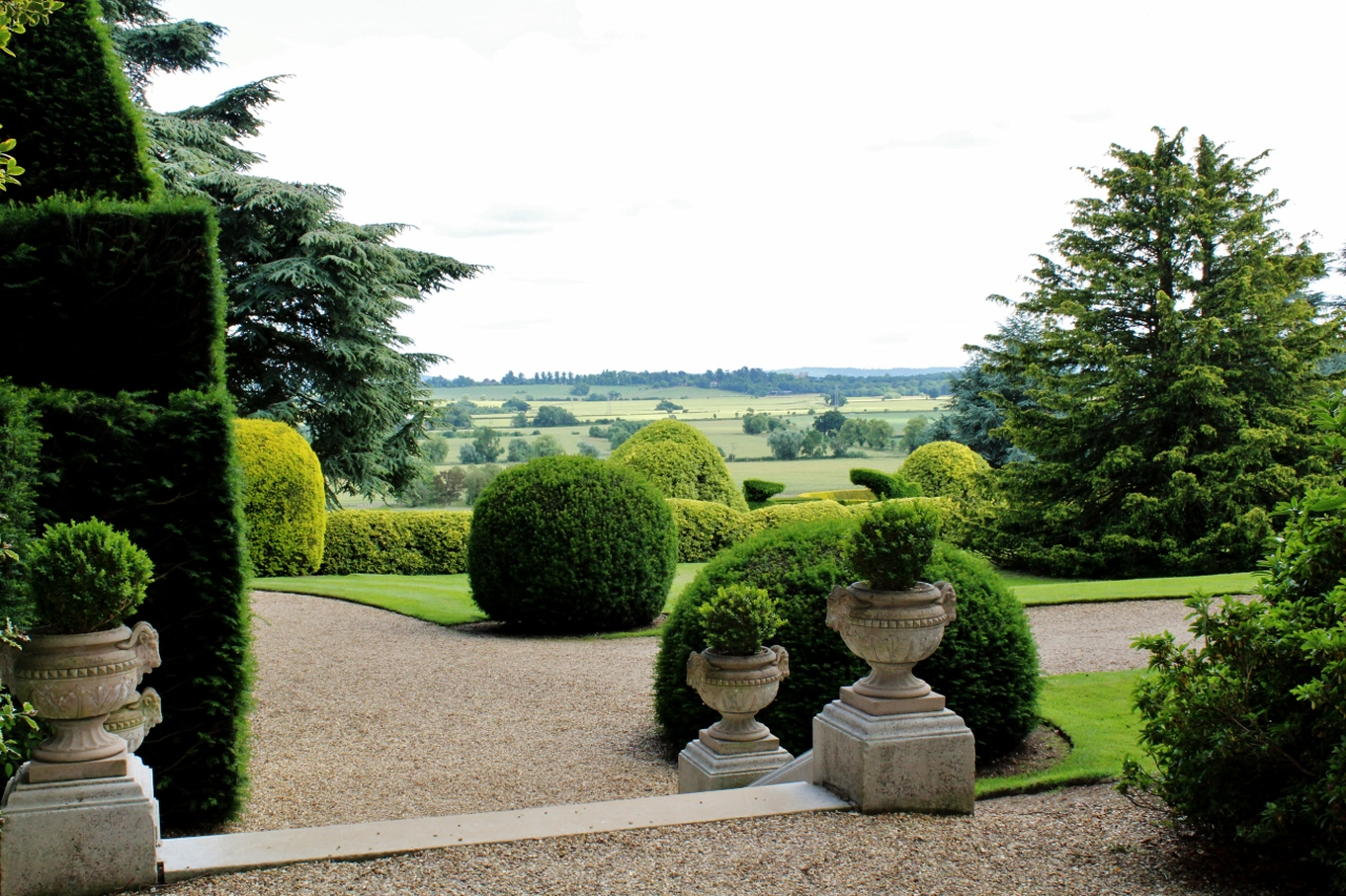 View of Buckinghamshire Countryside from Ascott House