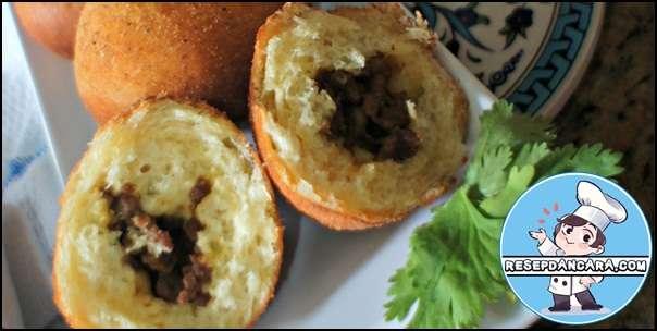 Resep dan Cara Membuat Roti Goreng Isi Kelapa Gula Merah
