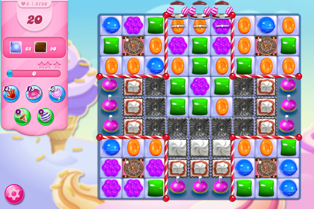Candy Crush Saga level 5726