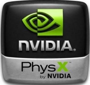 برنامج nvidia physics