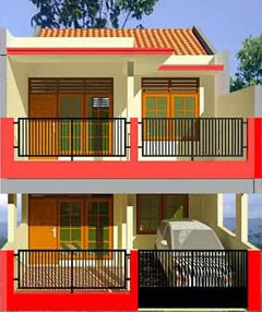 desain rumah minimalis luas tanah 100m2 - desain rumah