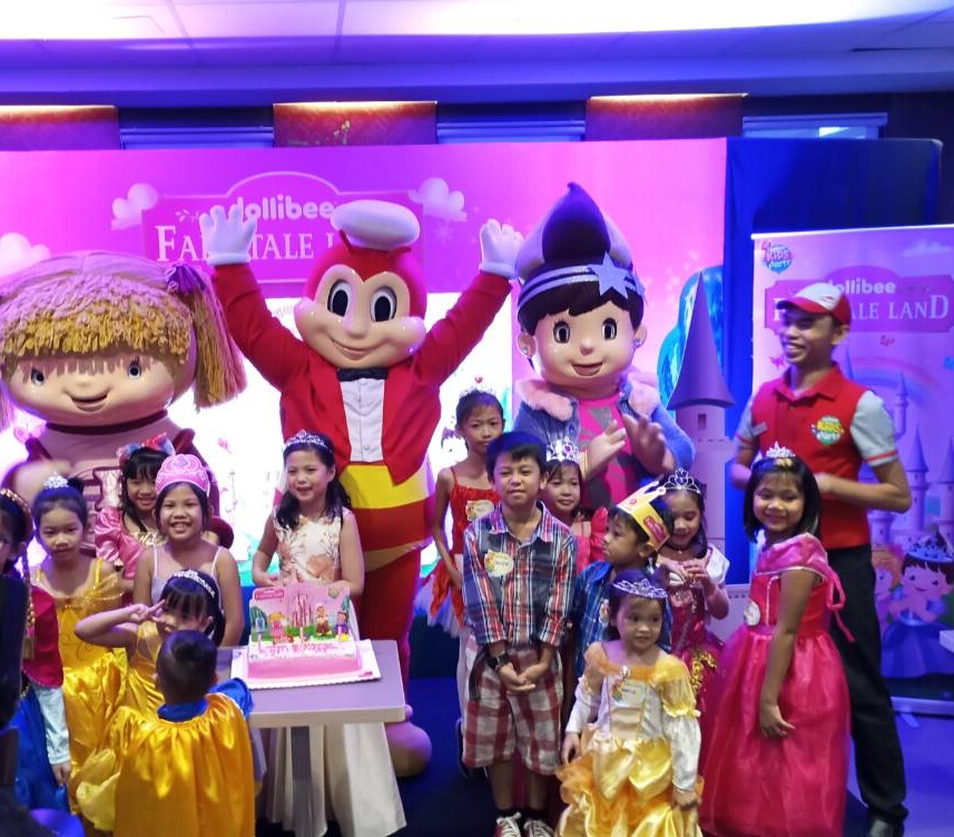 The Newest Jollibee Kids Party