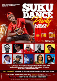 EVENT: Alaska UI & Friends Are Set To Shut Down Oron With The Suku Dance Party