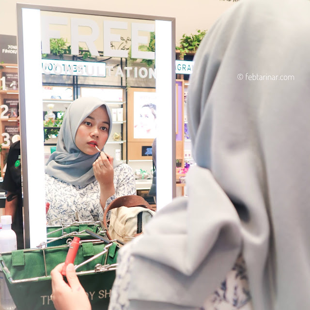 the body shop - beauty blogger - rara febtarina - The Body Shop New Concept store Bandung - PVJ bandung