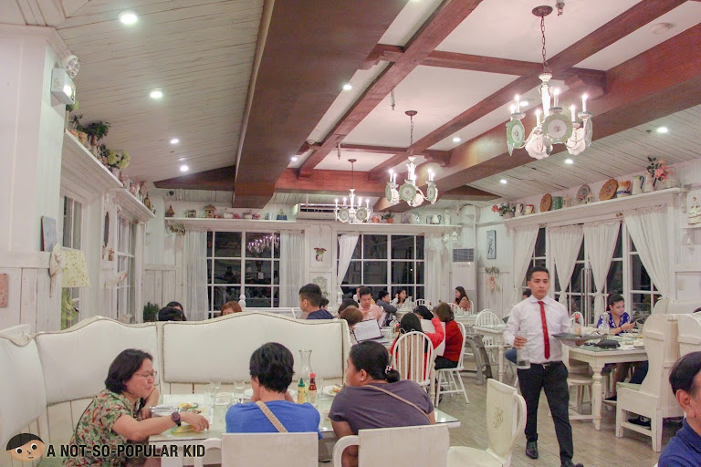 Interior of Bag of Beans, Tagaytay