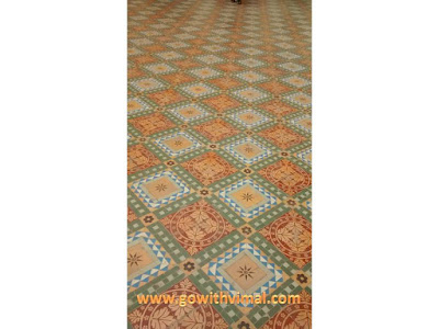 Floor of Phool Mahal in Junagarh fort