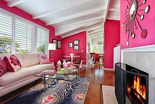 Sala color rosa