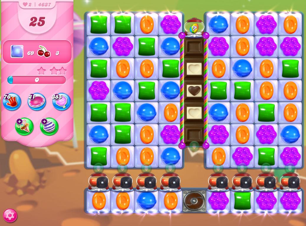 Candy Crush Saga level 4637