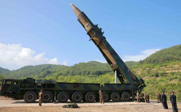 Rudal balistik Hwasong-14 Korea Utara