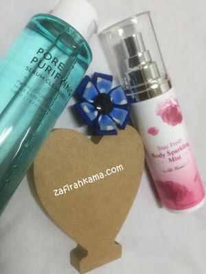 body sparkling mist, titi kamal, althea, collaboration, cara hilangkan bau badan, petua hilangkan bau badan dengan pantas, kekal segar dan wangi, korean product