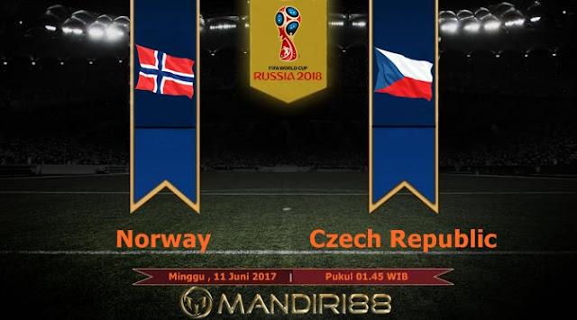Prediksi Bola : Norway Vs Czech Republic , Minggu 11 Juni 2017 Pukul 01.45 WIB